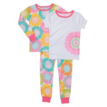 """新作♪""""Carter's""""のカラフルな花柄のパジャマ 3点セット"""
