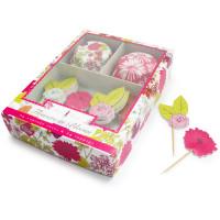 Williams Sonoma(ウイリアムズ・ソノマ)のカップケーキの【Flower in Bloom】デコレーションキット