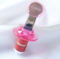 ブルックリン発のオシャレなキッチン雑貨屋さん【Whisk(ウィスク)】のZyliss ボトルストッパー(栓)ピンク