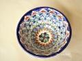 ウズベキスタンを代表する工芸品のリシタン陶器のボール タイプ【A】