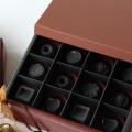 ギフトにおススメ!セラミック炭を使用した可愛い【炭のチョコラ】 12個入り (miniバッグ4枚入り)