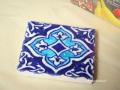 ウズベキスタンの手描きのモザイクタイル blue(青色) タイプ【A】