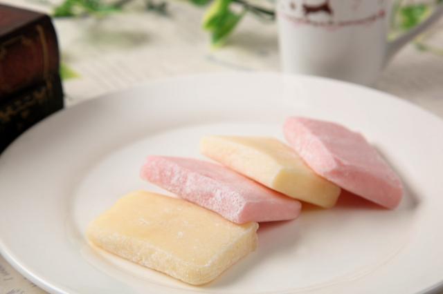 COOLバターもち バター味3切入 いちご味3切入 各2パック