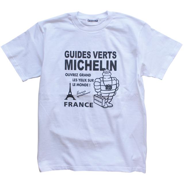 T−Shirts/Tourist/White(01)/Michelin