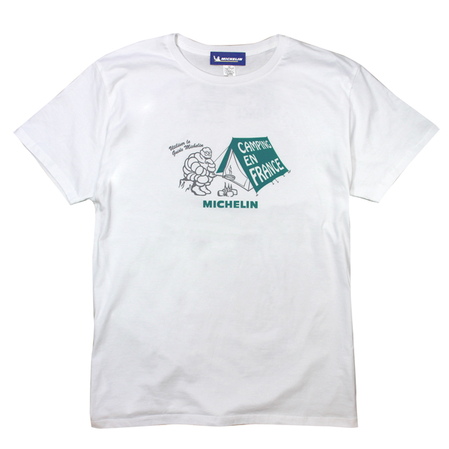 T-Shirts/Camp/White/Michelin