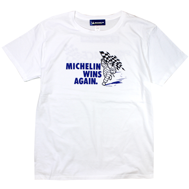 T-Shirts/Flag/White/Michelin