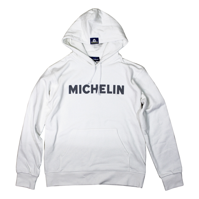 PO Sweat Hoodie2/Michelin/White
