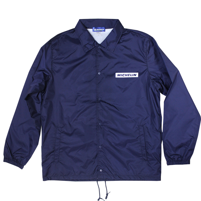 Coach Jacket/Moto/Navy