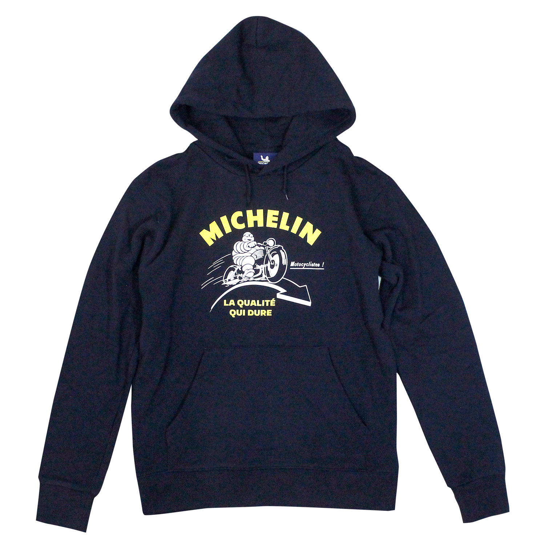 PO Sweat Hoodie/Motorcycle/Navy/Michelin【予約商品・お届け10月中旬】