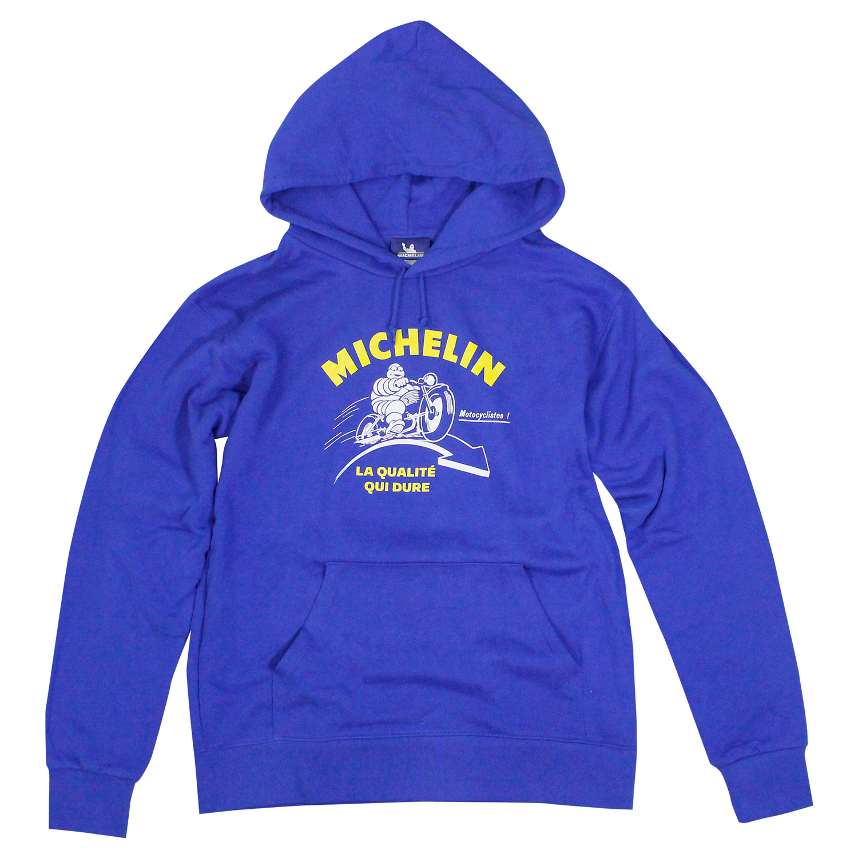 PO Sweat Hoodie/Motorcycle/Royal blue/Michelin【予約商品・お届け10月中旬】