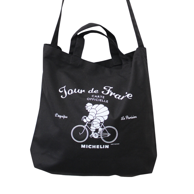 2Way tote bag/Tour de France/Black