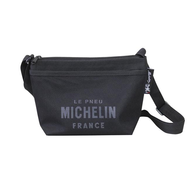 Shoulder pouch/Mesh pocket/Black/Michelin(232848)