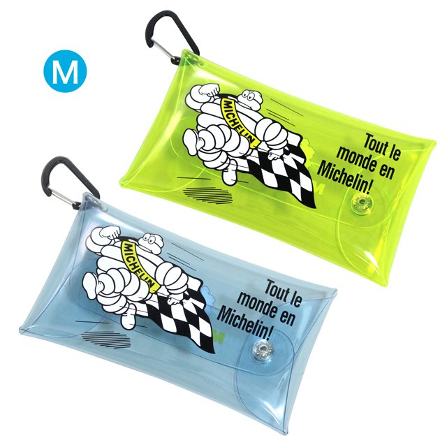 Clear pouch M/Run bib