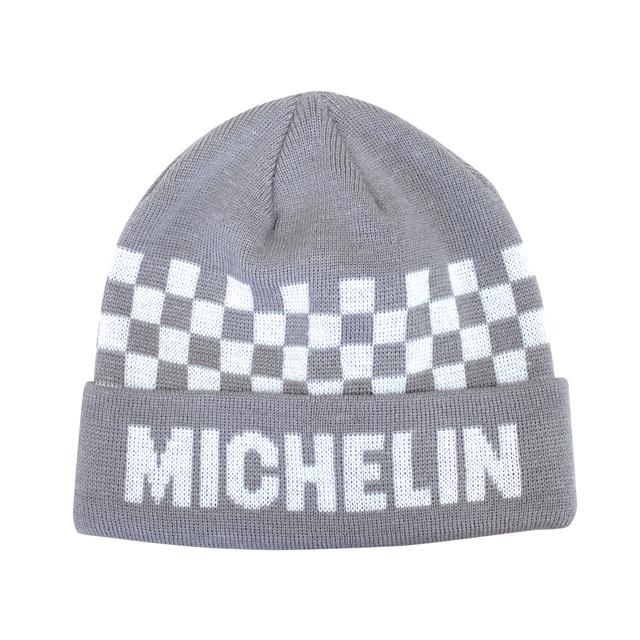 Knit cap /Checker/Gray/Michelin(281105)