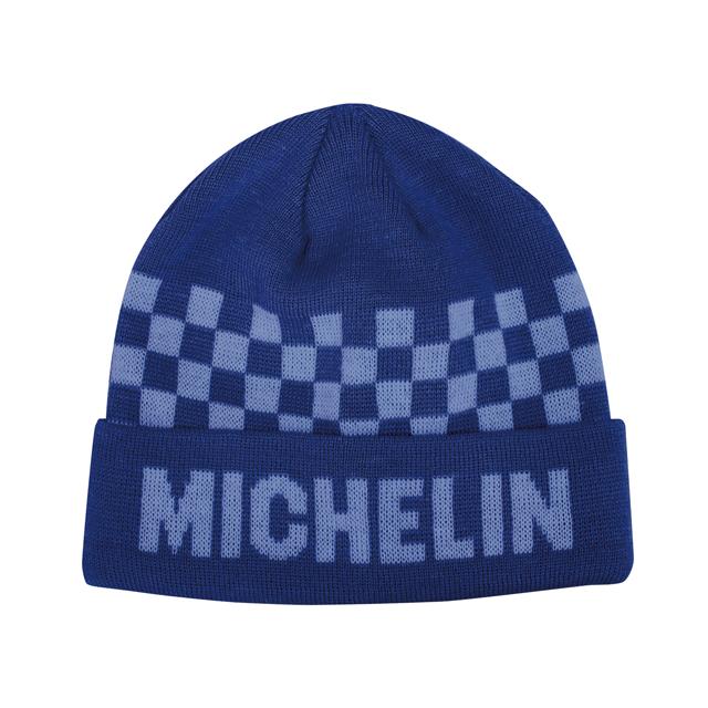 Knit cap /Checker/Blue/Michelin(281112)