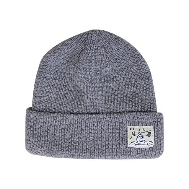 Knit cap /Solid/Gray/Michelin(281129)