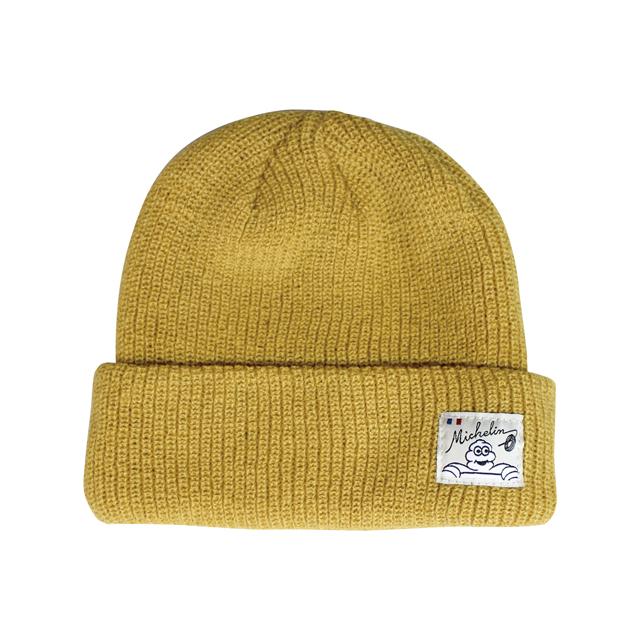 Knit cap /Solid/Mustard/Michelin(281143)
