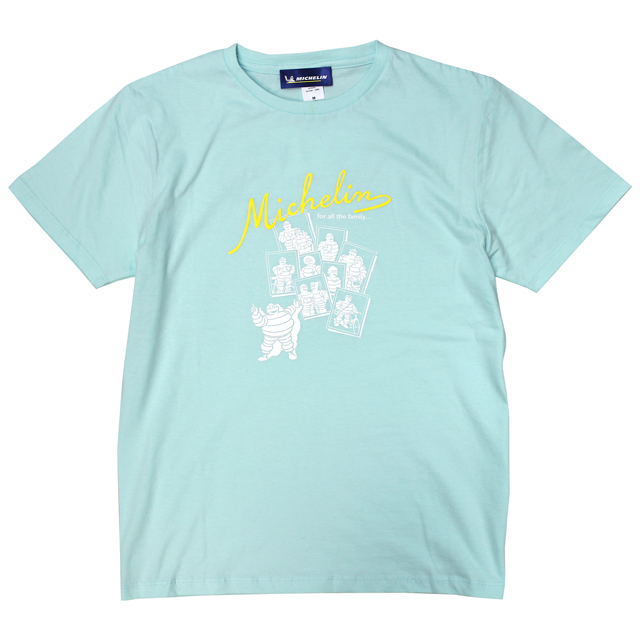 T-Shirts/Family/Light blue/Michelin