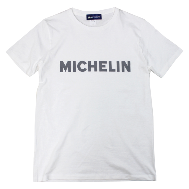 T-Shirts/Logo/White/Michelin