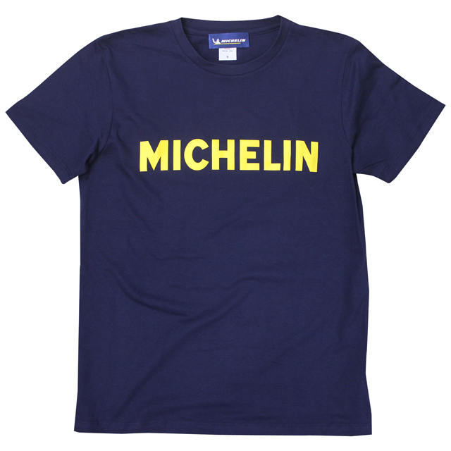 T-Shirts/Logo/Navy/Michelin