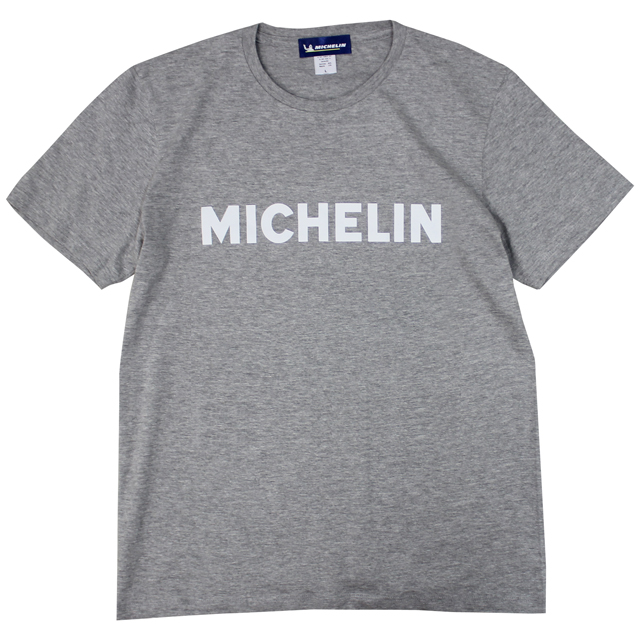 T-Shirts/Logo/Gray/Michelin