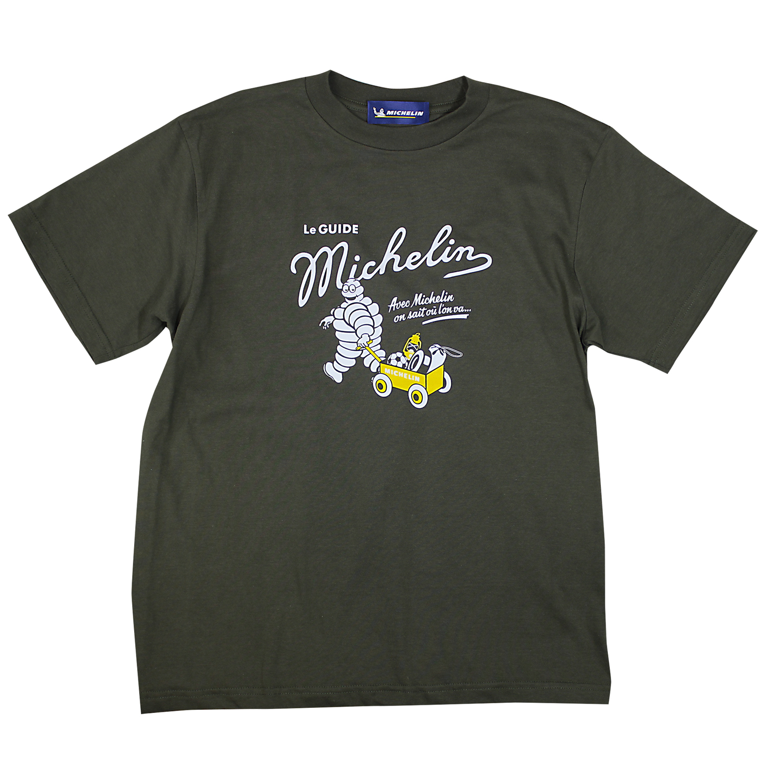 T-Shirt/Outdoor/Olive(12)/Michelin 【ネコポス便可】