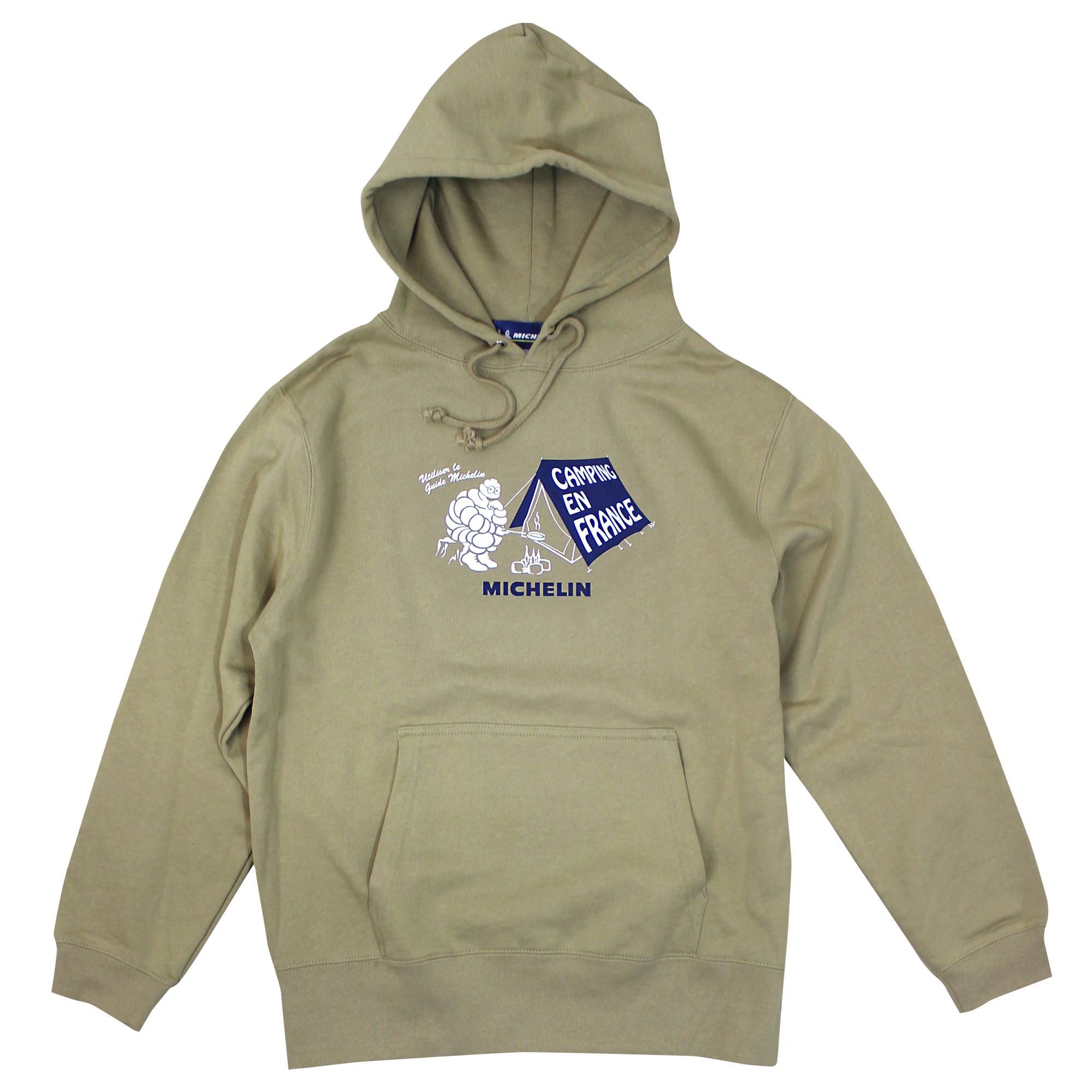 PO Sweat Hoodie/Camp/Michelin/Khaki 【受注生産】