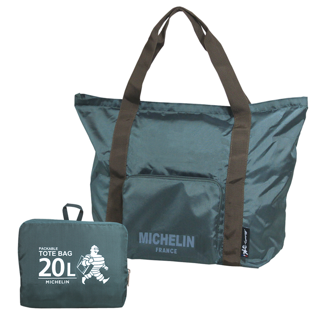 Packable tote bag/Stormy/Michelin(233517)