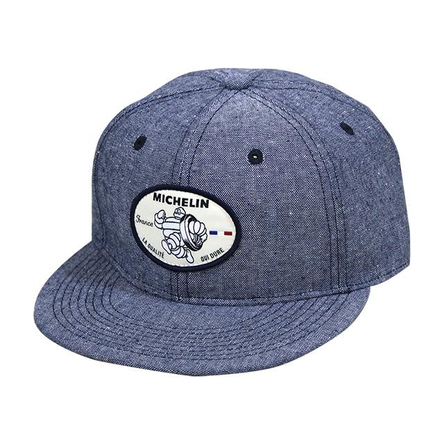 Flat visor cap/Michelin/Blue(281228)