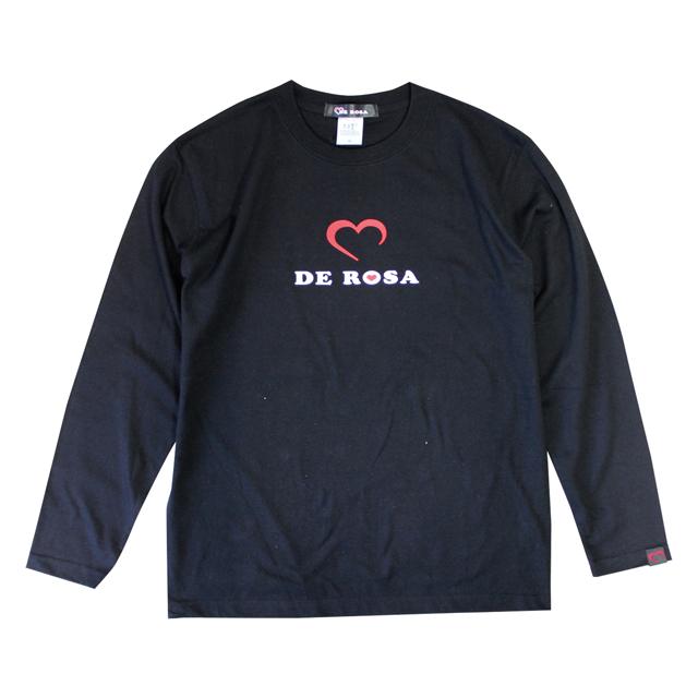 LS T-Shirts/Cuore/Black/Derosa