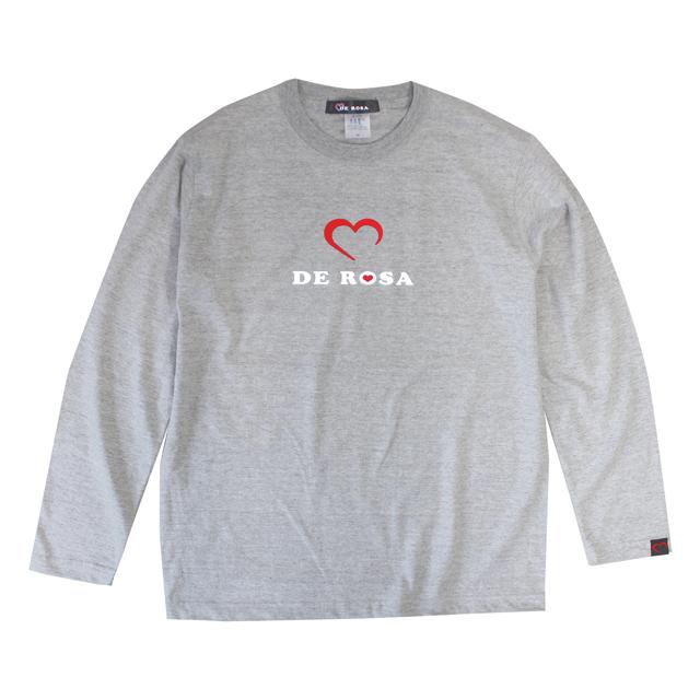LS T-Shirts/Cuore/Gray/Derosa