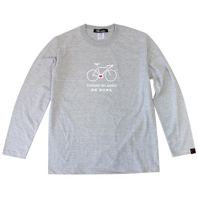 LS T-Shirts/Passione/Gray/Derosa