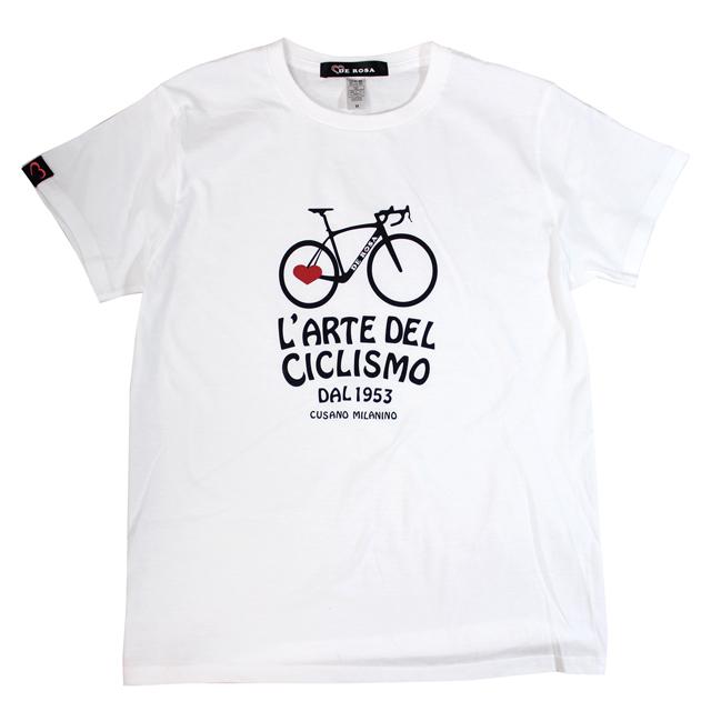 T-Shirts/Dinamico/White/Derosa