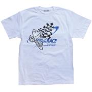 T-Shirts/Race/White(01)/Michelin