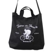 2Way tote bag/Tour de France/Black