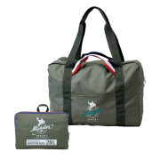 Packable boston bag 28/Olive/Michelin(232695)