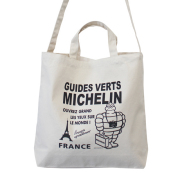 2Way tote bag/Tourist/White(232800)