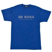 T-Shirts/DE ROSA/Classic Logo/Blue