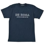T-Shirts/DE ROSA/Classic Logo/Navy