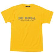 T-Shirts/DE ROSA/Classic Logo/Yellow