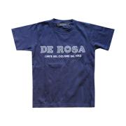 KIDS T-Shirts/DE ROSA/Classic Logo/Navy