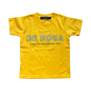 KIDS T-Shirts/DE ROSA/Classic Logo/Yellow