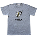 T−Shirts/Checker/Gray(06)/Michelin