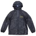 Rip stop hood jacket/Michelin/Camo Black