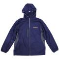Rip stop hood jacket/Michelin/Navy