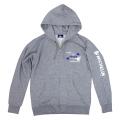 Zip up hoodie/Airstop/Gray/Michelin