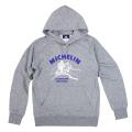 PO Sweat Hoodie/Motorcycle/Gray/Michelin