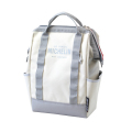 Wide open mini rucksack/Cream(232329)