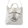 2Way tote bag/Tour de France/White