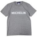 T-Shirt/Logo/Gray/Michelin  【ネコポス便可】